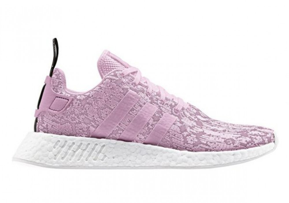 half off a5bcd 4c067 Adidas Womens NMD R2 Wonder Pink White Boost BY9315 ...