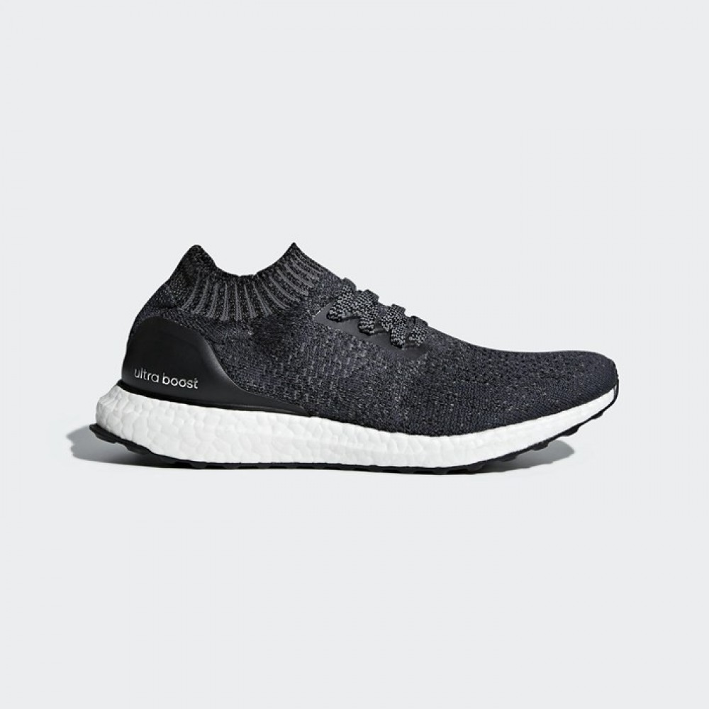 Adidas UltraBOOST Uncaged Women s Carbon Black Grey Running Shoes ... 4fd92d833