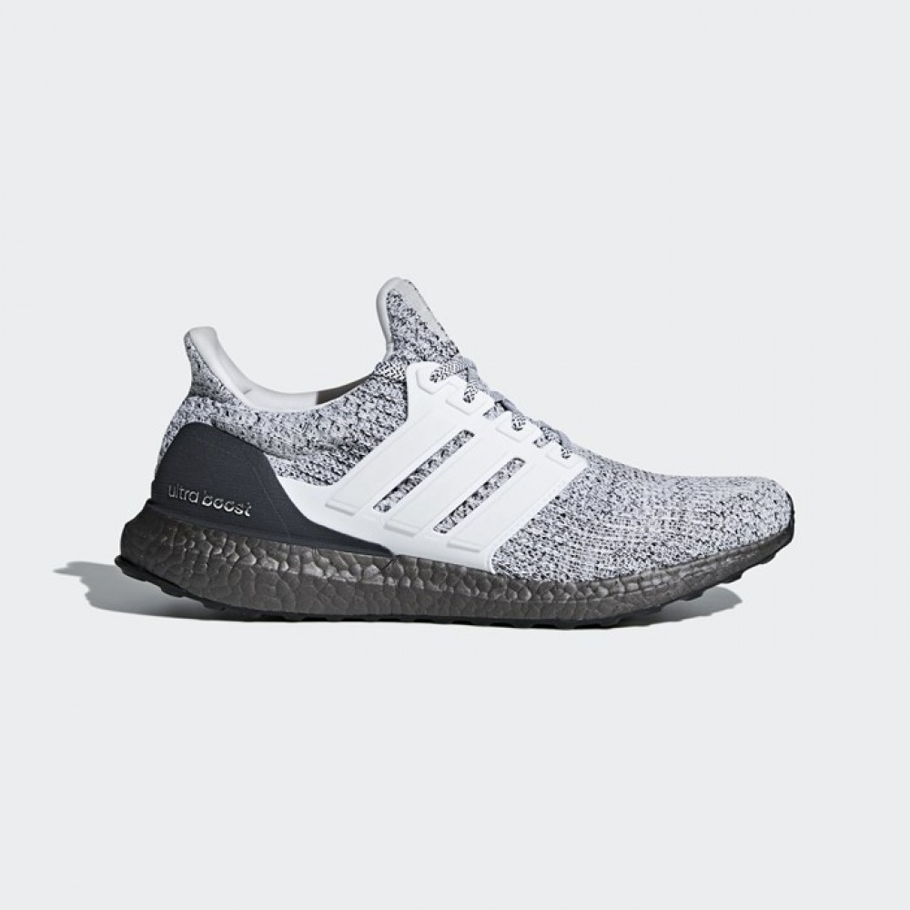 9d8a4f7f24f Adidas Ultra Boost Men s Running Shoes White White Grey BB6180 ...