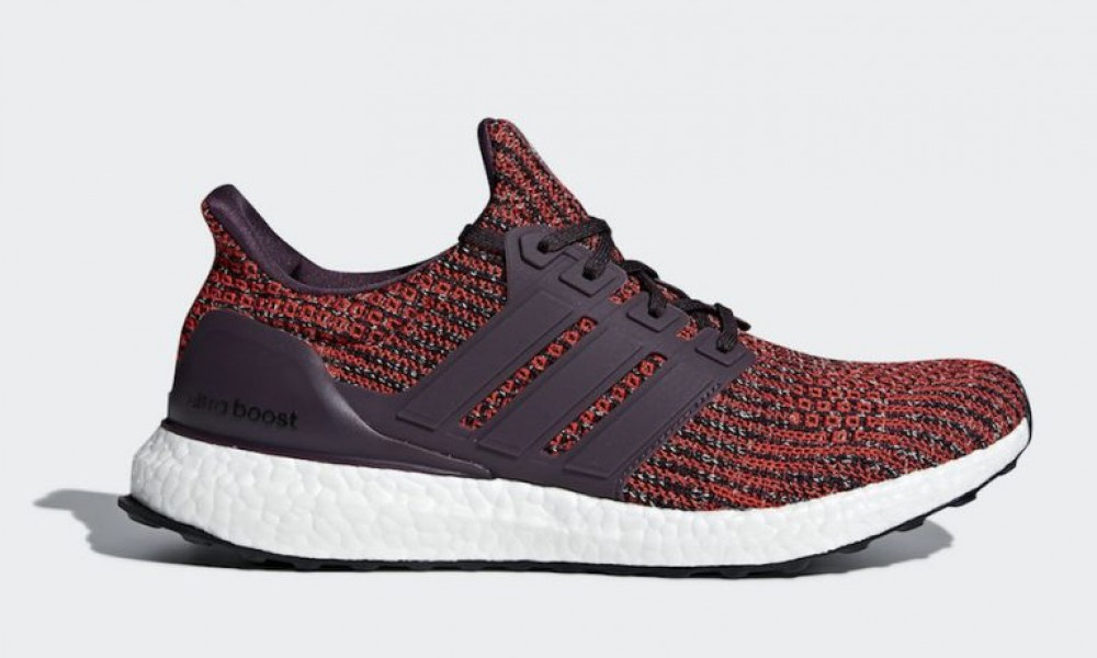 6971cbee002 Adidas Ultraboost 4.0 Maroon Noble Red Mens Running Shoes CP9248 ...