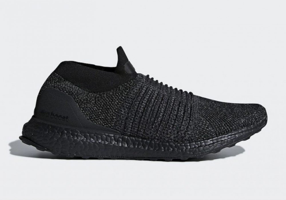 b53214383f295 More Views. Adidas Ultra Boost Laceless Mid Triple Black BB6222