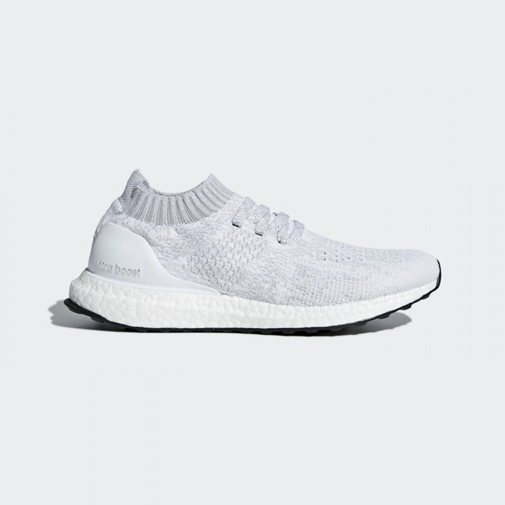 e273525872b2b Adidas Ultraboost Uncaged Primeknit White Grey Womens Running Shoes ...