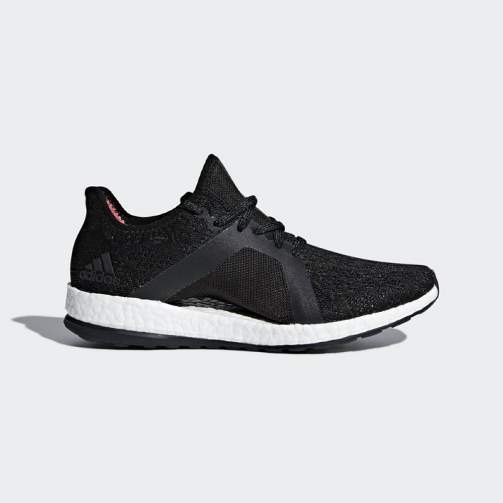 ee7f521259d39 Adidas PureBOOST X Element Black White Womens Running Shoes Sneakers ...