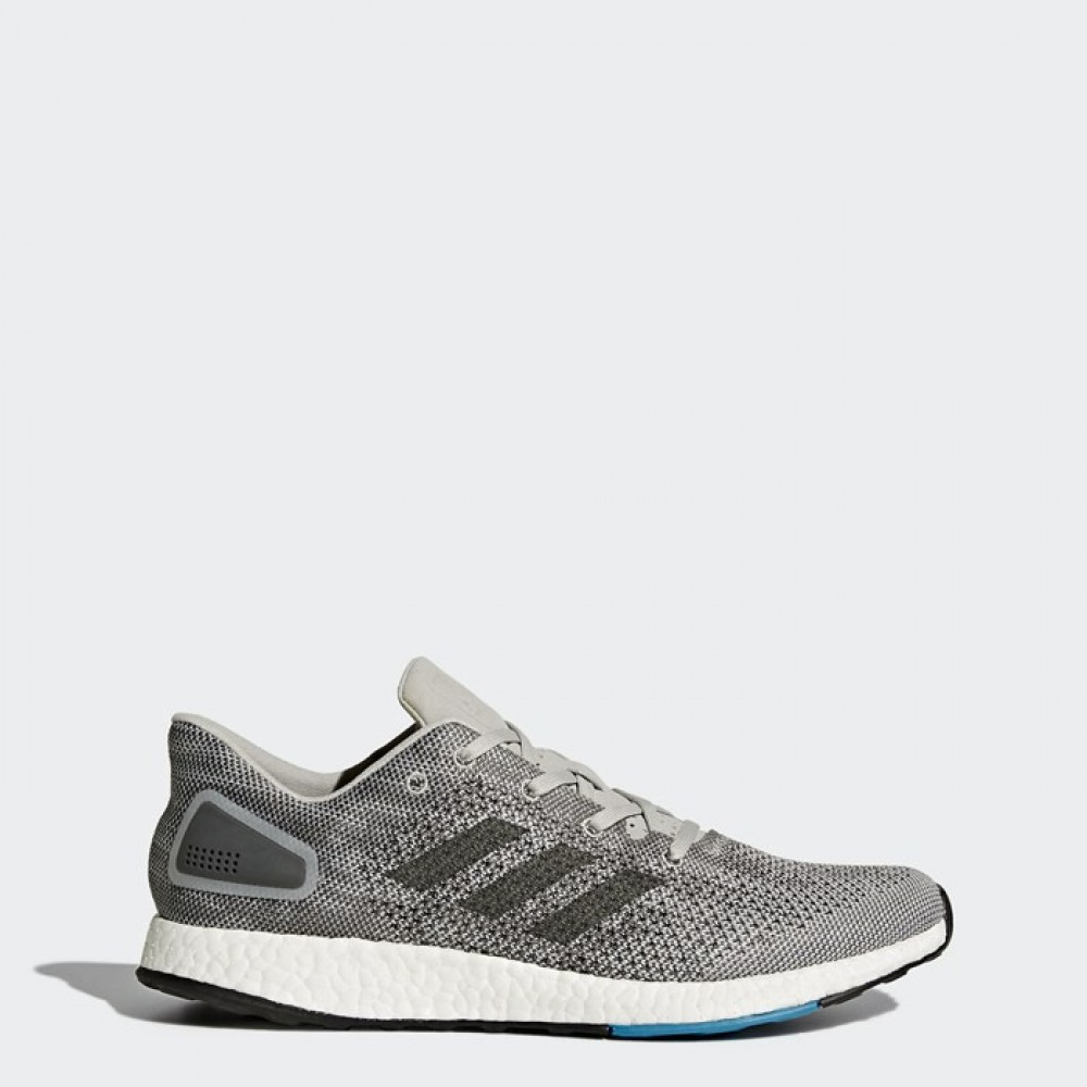 757a888f5 Adidas Mens Pure Boost DPR Running Shoes Grey SNEAKERS S82010 ...