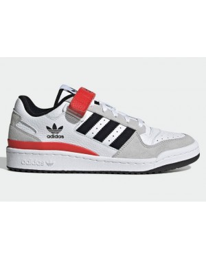 adidas Forum Low White Grey Black Red GY3249