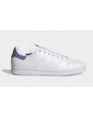 Adidas Stan Smith Cloud White/Core Black-Yellow FW3273