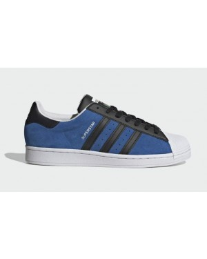 Adidas Superstar Blue/Core Black-Cloud White FU9523