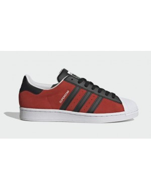Adidas Superstar Red/Core Black-Yellow FU9522