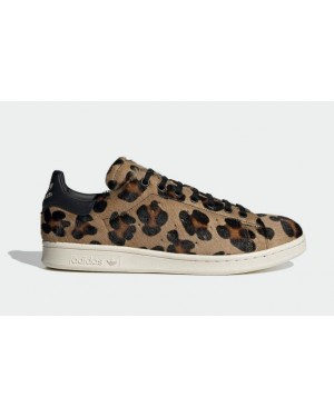 "Adidas Stan Smith Recon ""Leopard"" Brown/Core Black-Chalk White FZ5466"