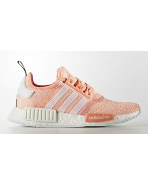 Adidas Originals NMD R1 Women's Orange Sneakers BY3034