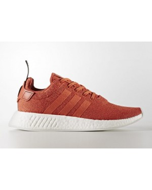 Adidas Originals NMD R2 Orange Sneakers BY9915