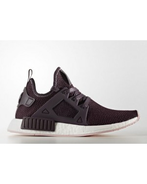 Adidas NMD XR1 Women's Dark Burgundy & Vapour Pink BY9820