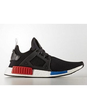 Adidas Mens NMD Xr1 PK OG Size 9 Black Blue Red BY1909