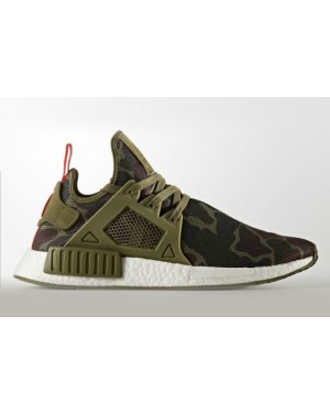 Adidas Originals NMD XR1 Green Sneakers BA7232
