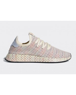 Adidas Deerupt Pride Shoes White CM8474