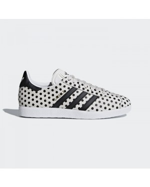 Adidas Gazelle Shoes Women's Originals White CQ2179