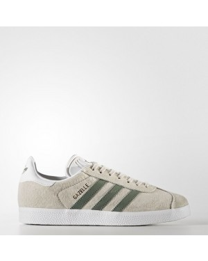 Adidas Gazelle Shoes Women's Originals Beige BY9361