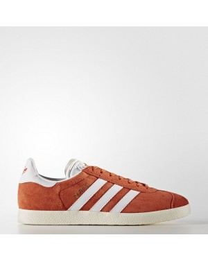 Adidas Gazelle Shoes Men's Originals Red BZ0024