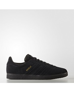 Adidas Gazelle Shoes Women's Originals Black BZ0029