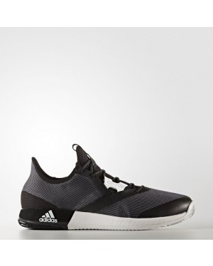 Adidas adizero Defiant Bounce Shoes Men's Tennis Black CG3077