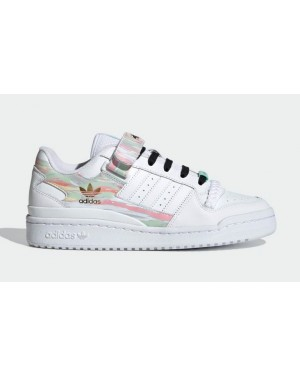 """Adidas Forum Low """"I Love Dance"""" White/Green FY5119"""