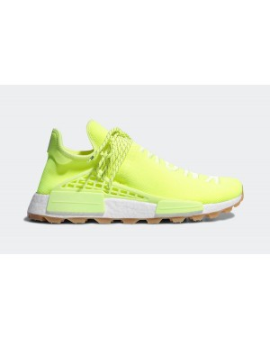 Pharrell adidas NMD Hu Trail Know/Soul Neon EF2335