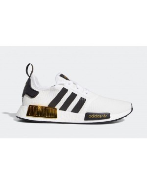 adidas NMD R1 White Black Gold EG5662
