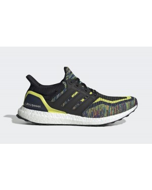 adidas Ultra Boost Multicolor Navy Black Yellow EG8106