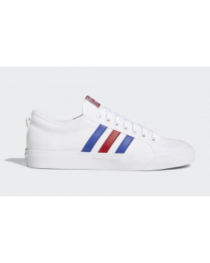 adidas Nizza White/Scarlet-Royal Blue FV0657