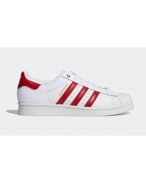 adidas Superstar Footwear White/Scarlet-Core Black FY3117