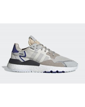 Nite Jogger 'White Active Blue' - adidas - F34124