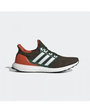 adidas Ultra Boost 4.0 Miami Hurricanes EE3702
