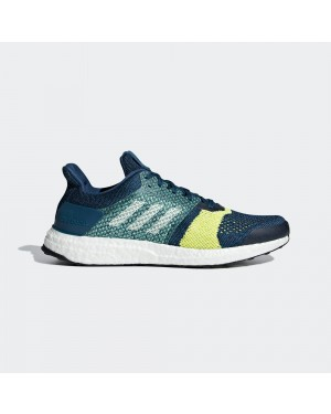 Men's adidas UltraBOOST ST Running Legend Marine/White/Legend Ink B37695