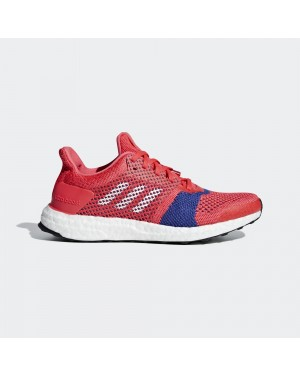 Adidas Running Ultraboost St Shock Red/Ftwr White/Active Pink B75867