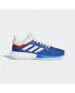 adidas Marquee Boost Low Blue/White/Red D96935