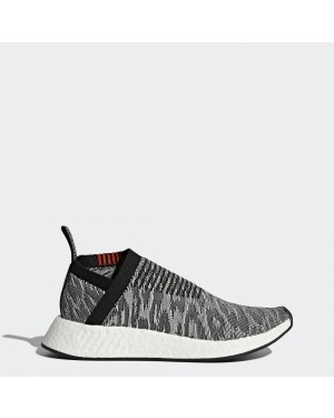 Adidas NMD_CS2 Primeknit Mens BZ0515 Core Black/Black/White
