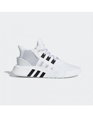 Adidas BD7772 EQT Bask ADV Running Shoes White Black