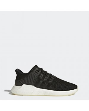 adidas BZ0585 EQT Support 93/17 Mens Running Shoe Black/White