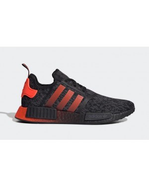 adidas NMD R1 Core Black Solar Red EG7953