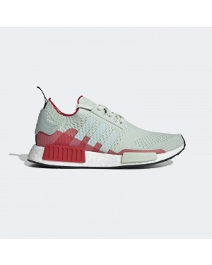 adidas NMD_R1 Primeknit Shoes - Green EE5078