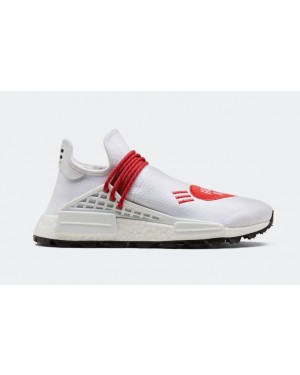 Human Made x adidas NMD Hu Cloud White/Scarlet-Core Black EF7223