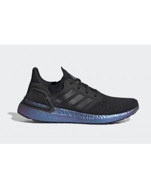Ultra Boost 2020 Black/Black-Blue Violet Metallic - EG1341 - Adidas