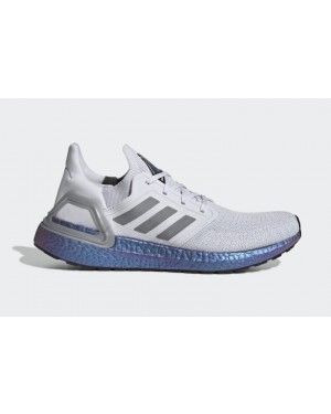 Ultra Boost 2020 Grey/Grey-Blue Violet Metallic - EG0755 - Adidas