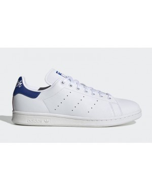 Stan Smith White/Blue-Red - EG8356 - Adidas