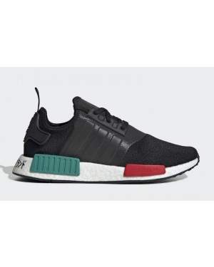 NMD R1 Black/Green-Red - EF4260 - Adidas