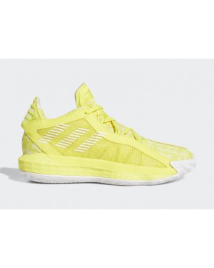 "Dame 6 ""Hecklers"" Yellow/White-Yellow - FU6810 - Adidas"