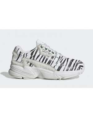 "Falcon ""Animal Pack"" Crystal White/Core Black - FV4049 - Adidas"