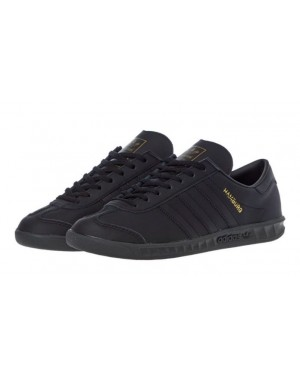 Adidas Hamburg Black/Metallic Gold FX5668
