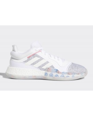 adidas Marquee Boost Low Footwear White/White G27745