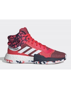 "adidas Marquee Boost ""John Wall"" Shock Red/Footwear White-Core Navy G27737"